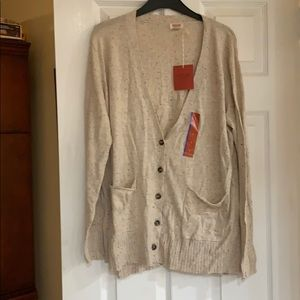 NWT Mossimo cardigan sweater
